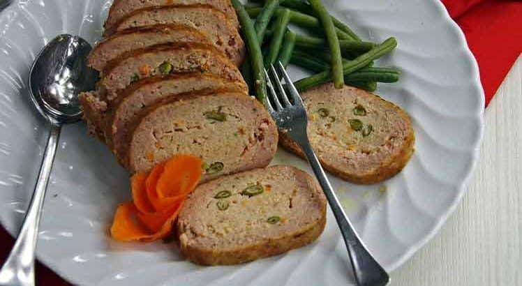 Mediterraan gehaktbrood